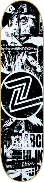Z-Flex Flyer Deck-8.75