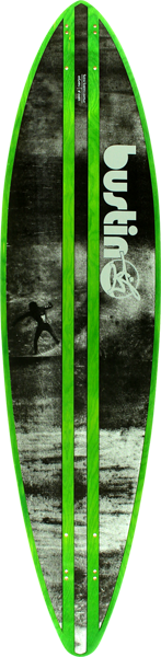 Bustin Surf Pintail 38 Fire+Water Deck-9.2X38