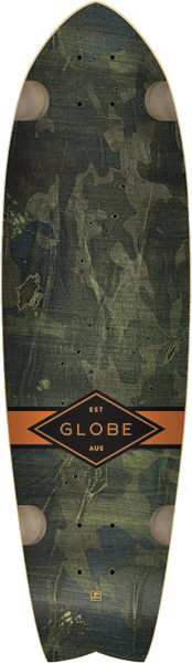 Globe Chromantic Deck-9.75X33 Camo W/Tailpad