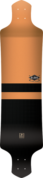 "Globe Geminon 41 Deck-9X41"" Yel/Blk Dropdown"