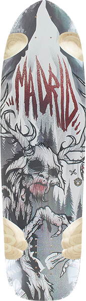 Madrid Wendigo Deck-9.62X38.25 Legendary Logo