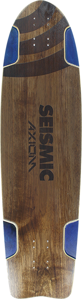 Seismic Axiom Deck-9.75X36.25 Nat/Blu
