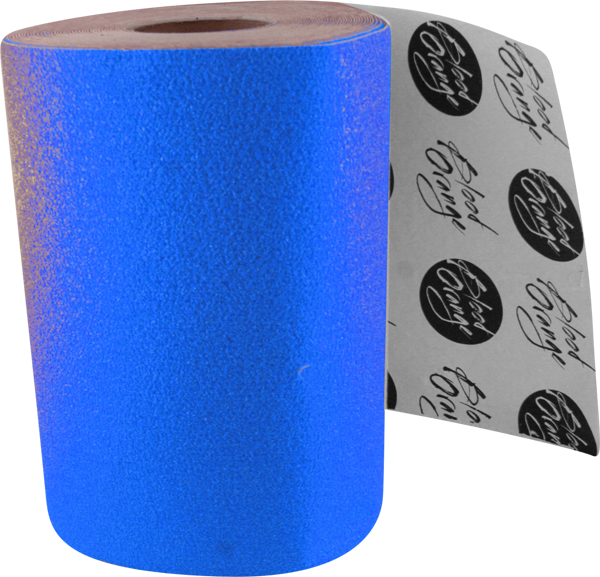 Blood Org X-Coarse Grip Roll-Neon Blue 11X60