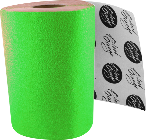 Blood Org X-Coarse Grip Roll-Neon Green 11X60