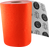 Blood Org X-Coarse Grip Roll-Neon Orange 11X60