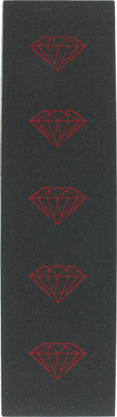 Diamond Brilliant Blk/Red Grip 1Sheet
