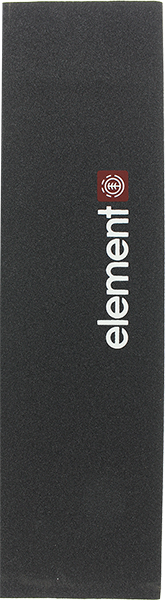 Element Screened Logo Single Sheet Griptape Blk/Wt