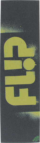 Flip/Mob Stencil Blk/Yel Single Sheet Grip 9X33