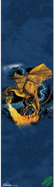 Mob Mountain Golden Dragon 9X33 1 Sheet