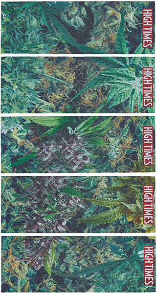 Mob Grip Strips High Times Collage 5Pcs 9X3.25