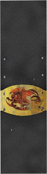Pwl/P Grip Sheet 9X33 Oval Dragon Ii Blk/Gold