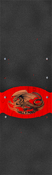 Pwl/P Grip Single Sheet Oval Dragon