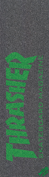 Thrasher/Mob Skate Mag Grn Single Sheet Grip 9X33