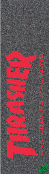Thrasher/Mob Skate Mag Red Single Sheet Grip 9X33
