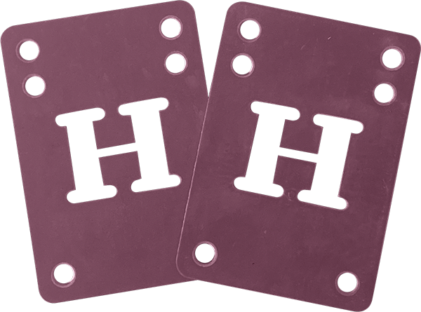 Blank H-Block Riser Set 2Mm Purple 2Pcs