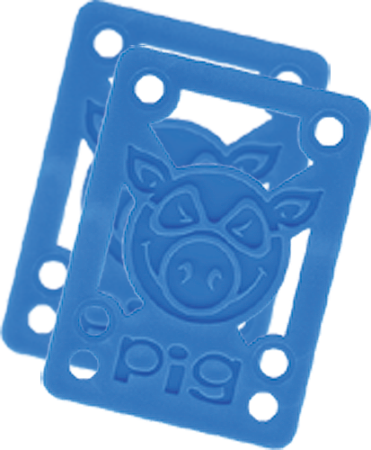 "Pig Piles 1/8"" Hard Risers Blue Single Set"