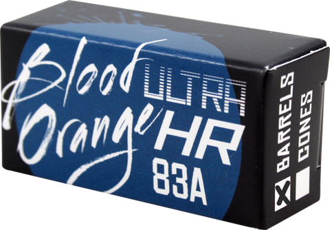 Blood Orange Barrel 83A Blue Bushing Set