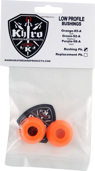 Khiro Low-Pro Bushing Set 85A Soft Org