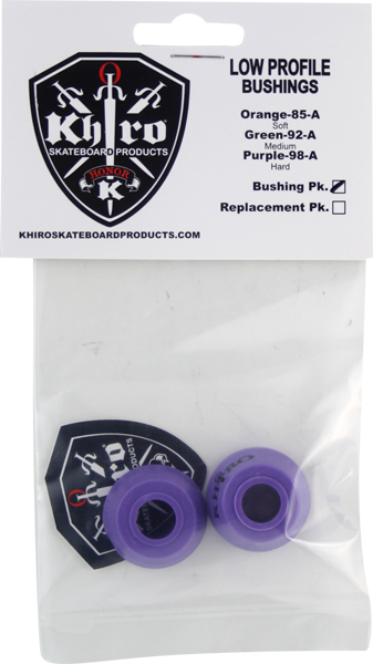 Khiro Low-Pro Bushing Set 98A X-Hard Purple