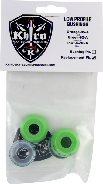 Khiro Low-Pro Bushing/Cup Washer Kit 92A Med Lime