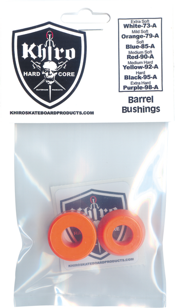 Khiro Std Barrel Bushing Set 79A M-Soft Orange
