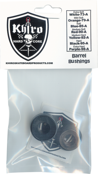 Khiro Std Barrel Bushing Set 95A Hard Black