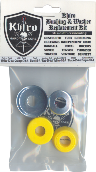 Khiro Std-Barrel Bushing/Wash Kit 92A M-Hard Yel