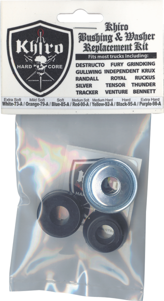 Khiro Std-Barrel Bushing/Wash Kit 95A Hard Blk