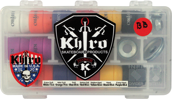 Khiro Double Barrrel Bushings Complete Kit