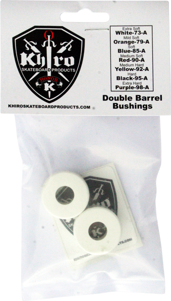 Khiro Double Barrel Bushing Set 73A X-Soft White