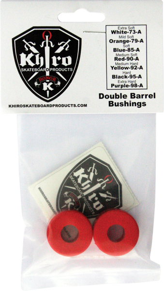 Khiro Double Barrel Bushing Set 90A Med Red