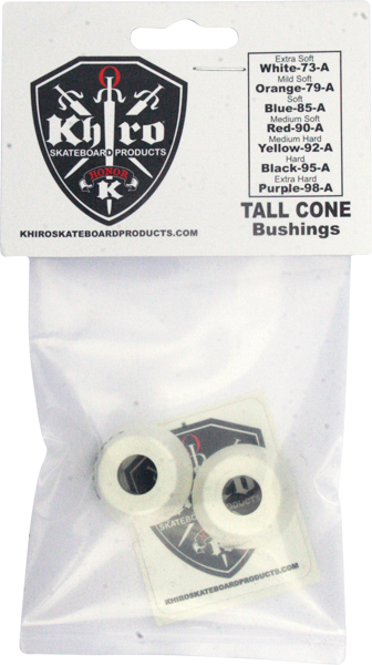 Khiro Tall Cone Bushing Set 73A X-Soft White