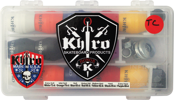 Khiro T-Cone/L-Barrel Combo Bushings Complete Kit