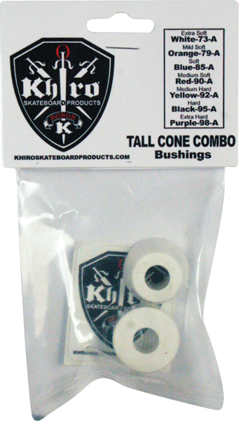 Khiro T-Cone/L-Barrel Bushing Set 73A X-Sft Wht