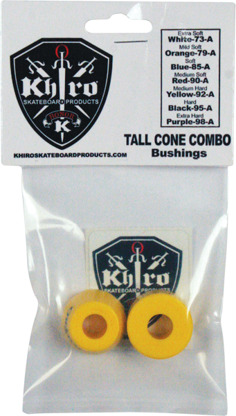 Khiro T-Cone/L-Barrel Bushing Set 92A M-Hard Yel
