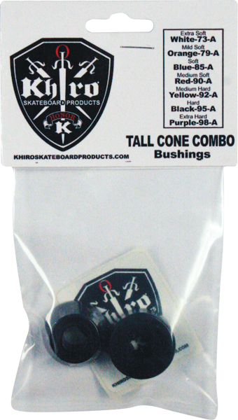 Khiro T-Cone/L-Barrel Bushing Set 95A Hard Blk