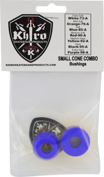 Khiro S-Cone/L-Barrel Bushing Set 85A Soft Blu
