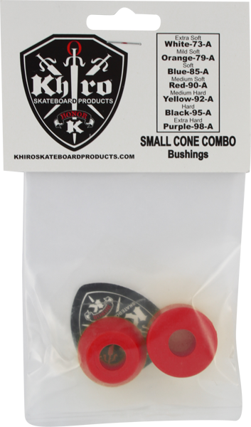Khiro S-Cone/L-Barrel Bushing Set 90A Med-Soft Red