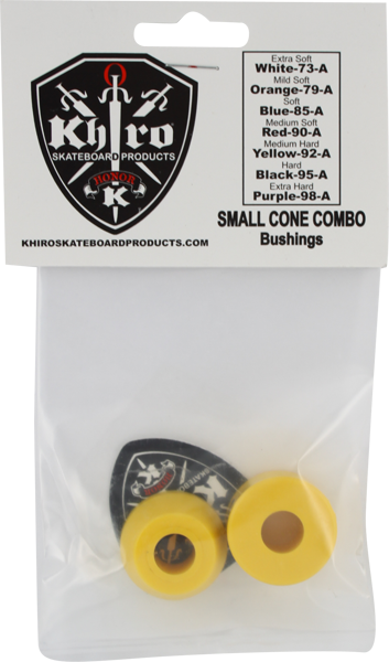 Khiro S-Cone/L-Barrel Bushing Set 92A M-Hard Yel