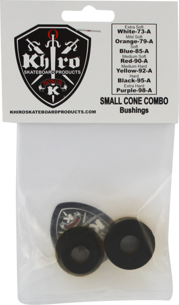 Khiro S-Cone/L-Barrel Bushing Set 95A Hard Blk