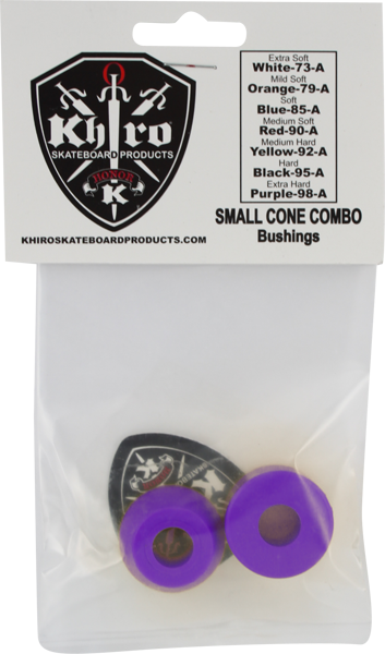 Khiro S-Cone/L-Barrel Bushing Set 99A X-Hard Purp