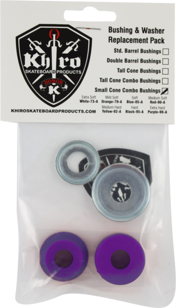 Khiro S-Cone/L-Brl Bushing/Wash Kit 99A X-Hard Pur