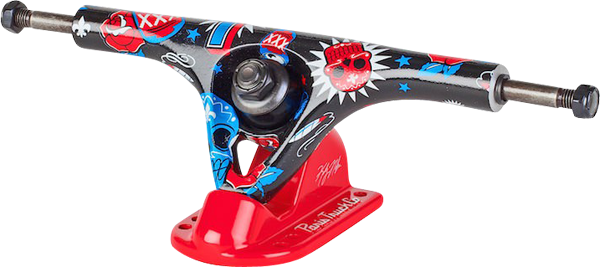 Paris Kody Noble 180Mm/50� Truck Blk/Red