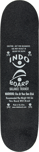 Indo Mini Kicktail Deck(Deck Only) Black