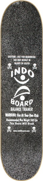Indo Mini Kicktail Deck/Roller Kit Black