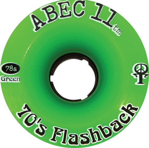 Abec11 Flashbacks 70Mm 75A Green