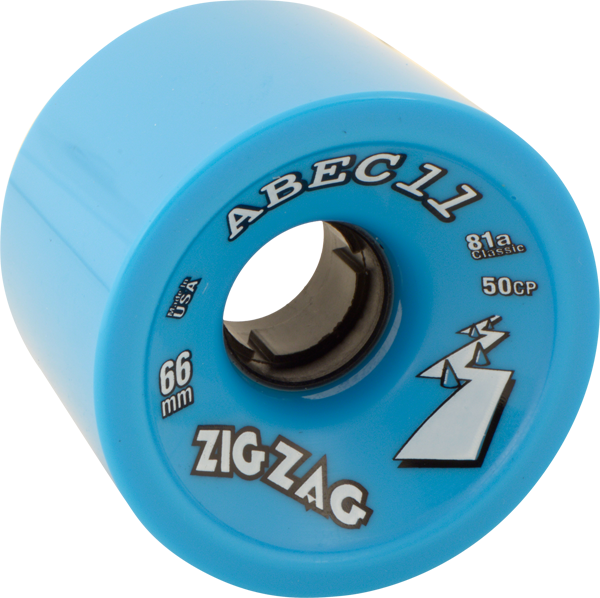 Abec11 Zigzags 66Mm 81A Blue