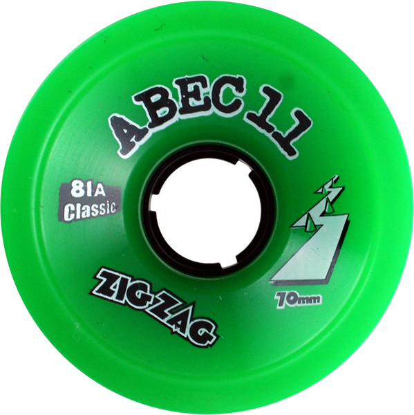 Abec11 Classic Zigzags 70Mm 81A Green