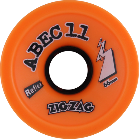 Abec11 Zigzags 66Mm 89A Orange Plus