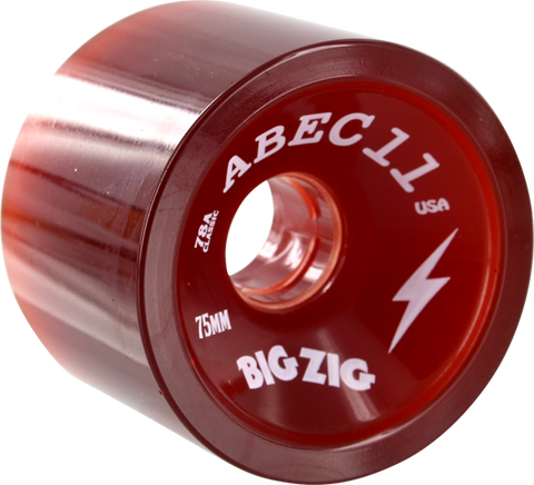 Abec11 Bigzigs 75Mm 78A Red
